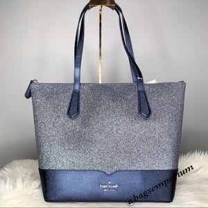 Kate Spade Large Glitter purse tote
